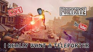 [ENG] Fortnite - Realmente quiero un teletransportador
