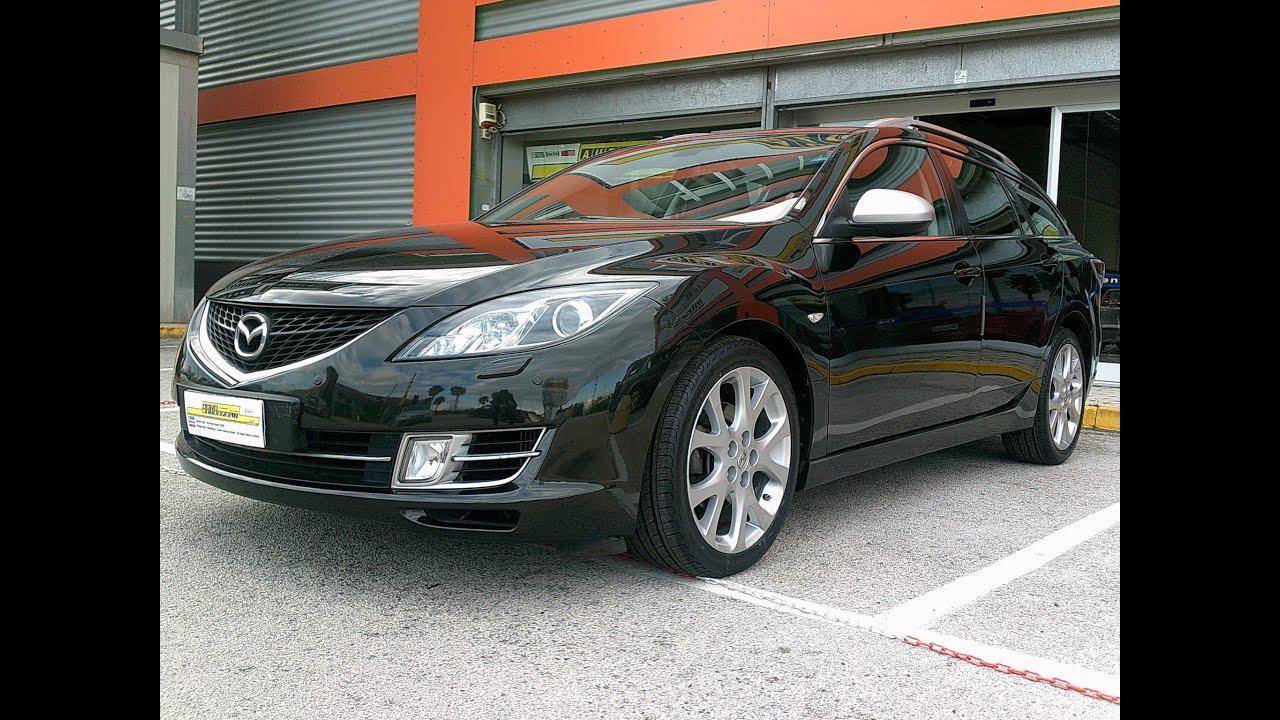 mazda 6 station wagon 2.0 16v 140cv cd luxury - youtube
