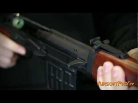 AimTop SVD GBB rifle video overview