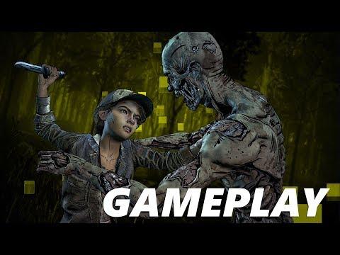 The Walking Dead. The Final Season | Episódio 1 Dublado. Gameplay