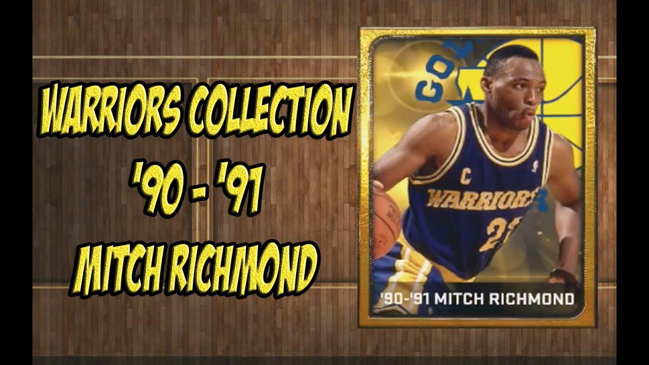 NBA 2K15 MITCH RICHMOND plete Warriors Collection