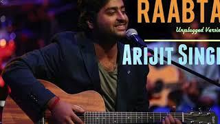 Arijit Singh - MTV Unplugged - Raabta
