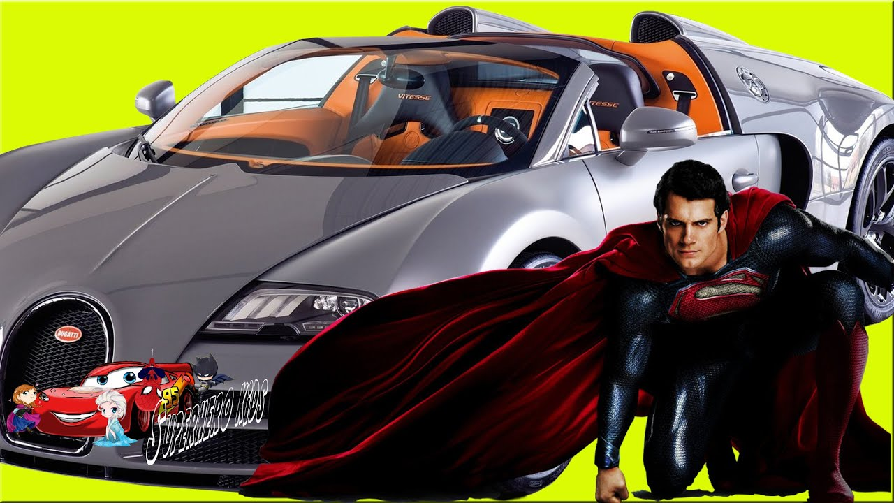 Superman Driver Super Cars Ride Motor So Cool For Kids