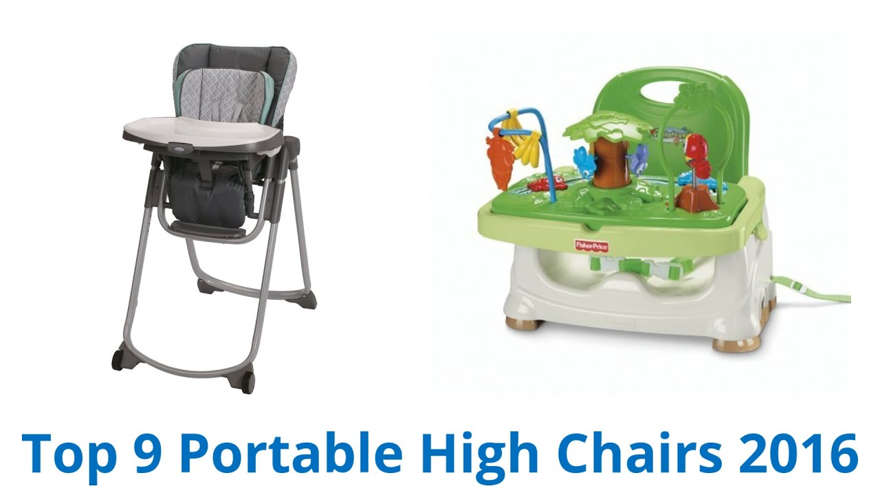 9 Best Portable High Chairs 2016