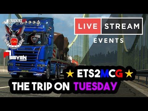 【 LIVE 】Euro Truck Simulator 2 - ETS2MCG Team l Dresden - Klagenfurt [17/4/2018]
