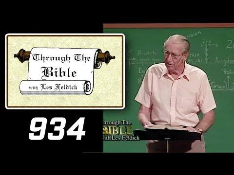 [ 934 ] Les Feldick [ Book 78 - Lesson 3 - Part 2 ] Pt 2: Messianic Prophecies: Psalm 22, 23, 24 |b