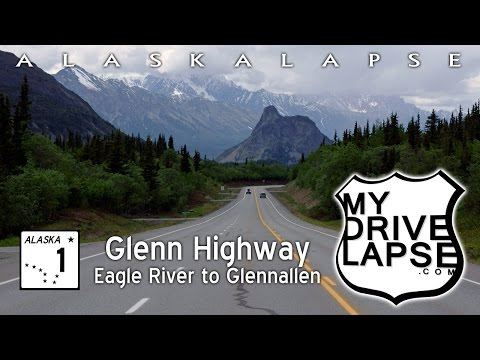 Scenic Drive on Glenn Highway: Anchorage to Glennallen