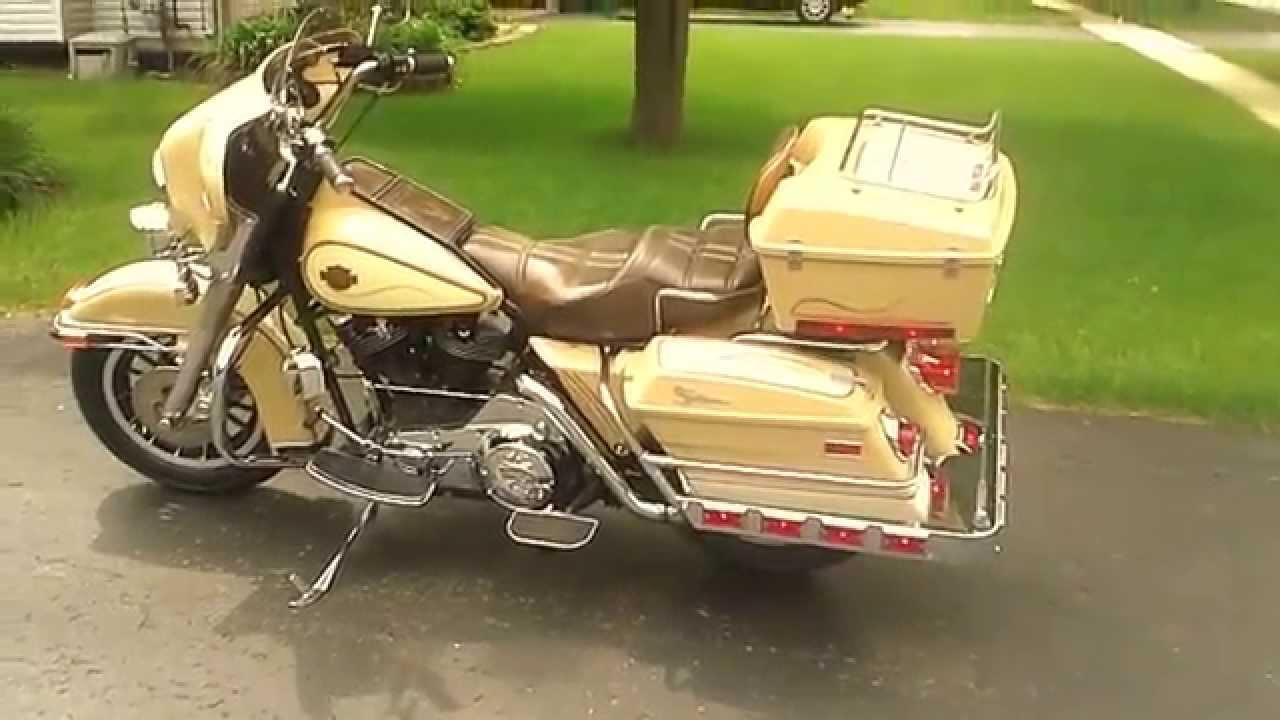 1983 Harley Flht Classic Electraglide Shovelhead Youtube
