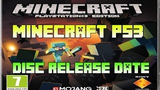 Minecraft PS3 - Disc Release Date (Blu-Ray Minecraft Playstation 3 Edition)