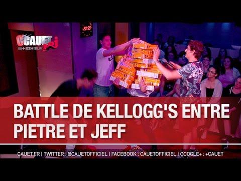 Battle de kellogg's entre Pietre et Jeff - C'Cauet sur NRJ