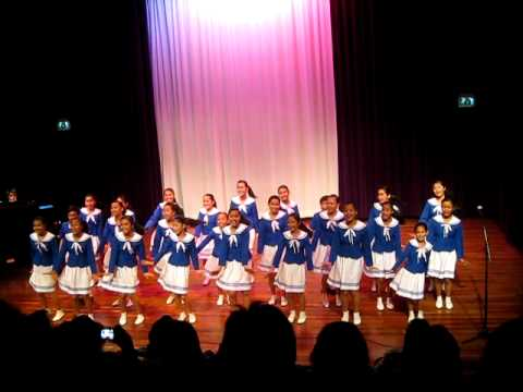 Loboc Children's Choir in Hoofddorp Holland Oct 19, 2011 (Thank You for the Music)