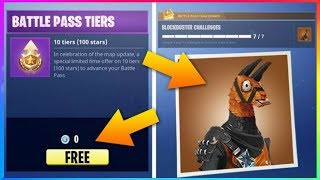 BLOCKBUSTER Skin Finally REVEALED! FREE Battle Pass Tiers! (Fortnite Battle Royale)
