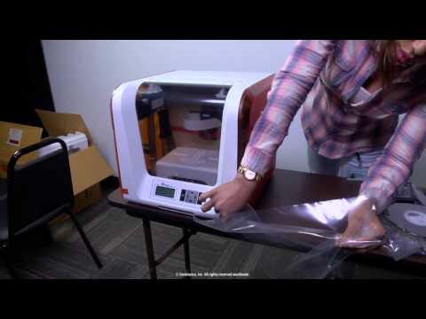 Unboxing a XYZprinting© da Vinci Jr 1.0 3D Printer