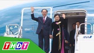 Chủ tịch nước Trần Đại Quang bắt đầu chuyến thăm Nhật Bản | THDT