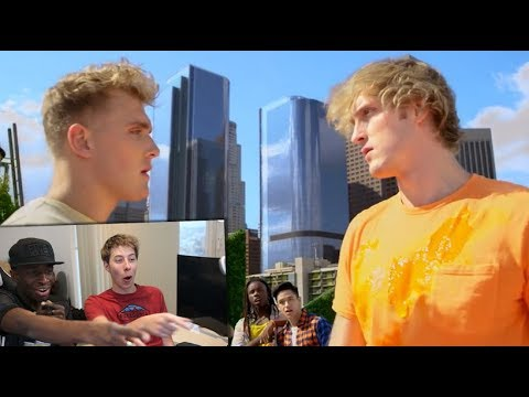 YouTube Rewind: The Shape of 2017 REACTION ft. Logan & Jake Paul, KSI