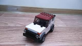 Делаю тюнинг для лего самоделки ВАЗ 2121 нива /VAZ 2121 Niva