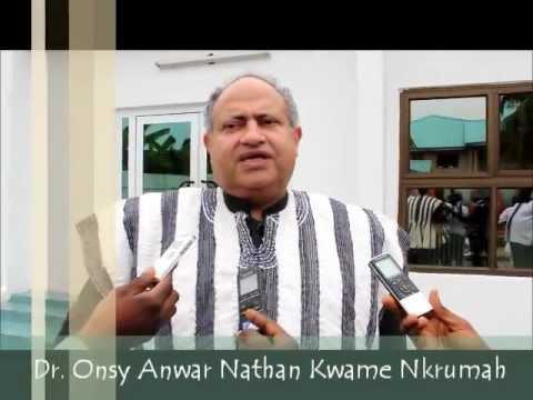 All hail Kwame Nkrumah's long lost son, Kwame Nkrumah