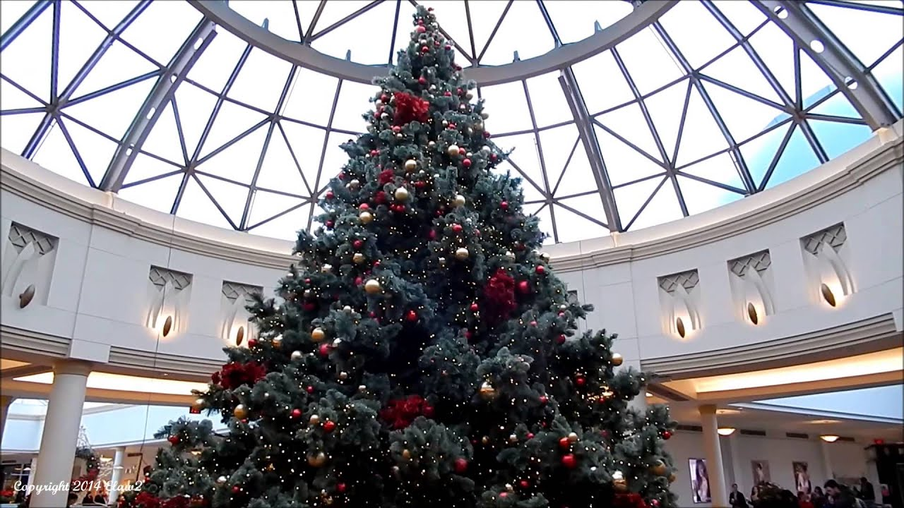King of Prussia Mall\'s Christmas Tree Across from Nordstrom 12/20 ...