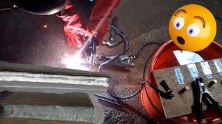 water welding machine how to make welding machine in salt water    Golden Works TV