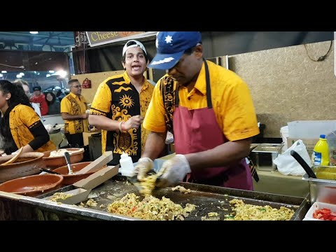Kotthu Sri Lanka street food. #ศรีลังกา อาหารแขก