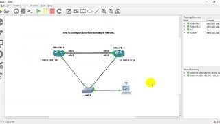 How to configure Interface Bonding in Mikrotik