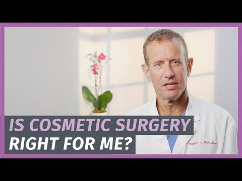 Right and Wrong Reasons for Cosmetic Surgery
