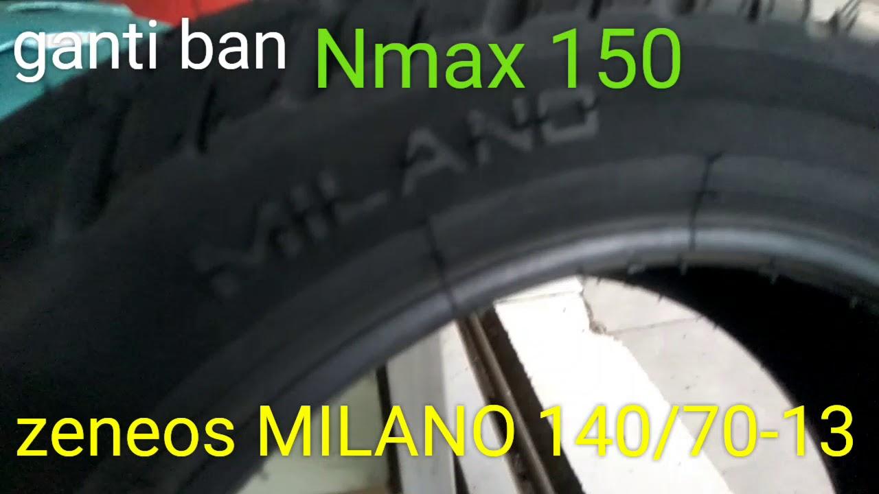 Ganti Ban Zeneos Milano 140 70 13 Nmax 150