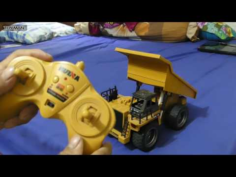 Toys RC Huina 540 Dump Truck Review