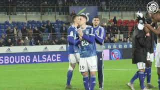VIDEO: Racing-Toulouse FC (4-2) : la communion