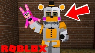 Finding Reverse Funtime Freddy in Roblox Fredbears Friends