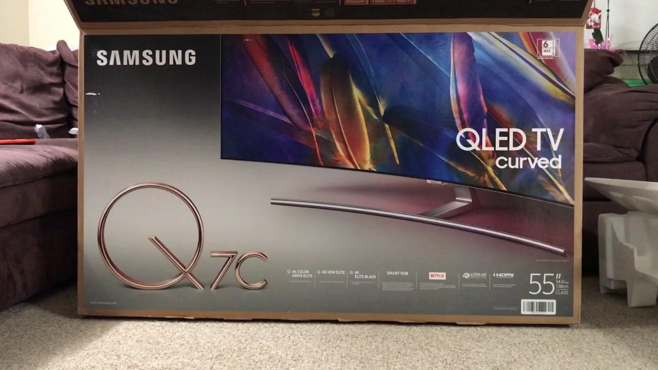 Samsung Q7c Test