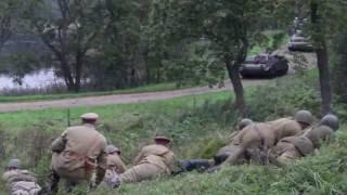 Реконструкция эпизода Великой Отечественной войны /  2016