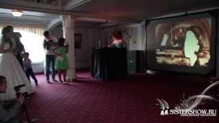 Песочное шоу на свадьбе у Виолетты и Андрея!