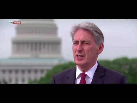 Philip Hammond's EU 'enemy' gaffe
