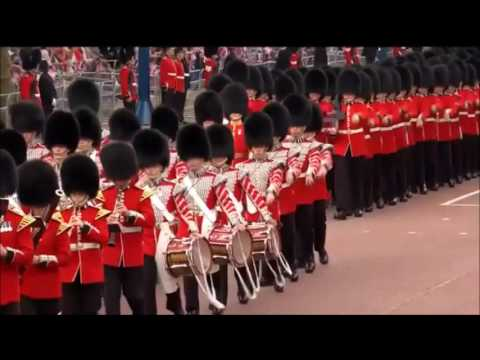 No.7 Company Coldstream Guards Trooping their Colour 2016