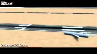 アシアナ航空214便 事故映像再現アニメーション