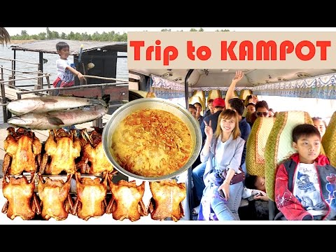Trip to Trapeang Sangkae Ecotourism Community Part 1 | Travel from Phnom Penh to Kampot Province