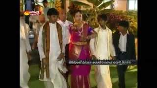Grand wedding of daughter of Ambati Rambabu in Tirumala