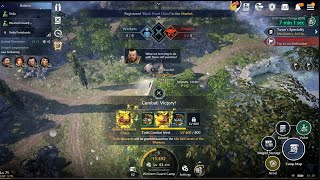 Black Desert Mobile Machantry Combat Level 600 & Treasure Chest