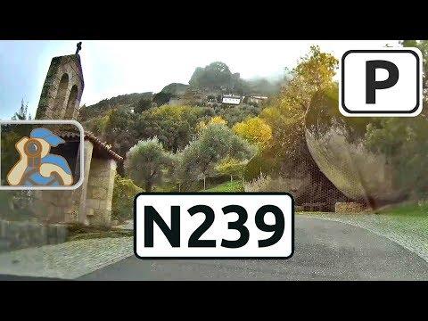 Portugal. [ ✕ A23 (Soalheira) - M558 - Orca - N239 - Monsanto ]