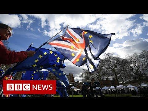 Brexit: Cross-party talks continue ahead of EU summit - BBC News