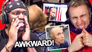 SIDEMEN REACT TO AWKWARD MOMENTS