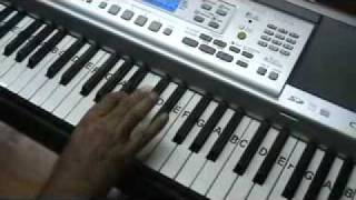 Babul ki duaayen leti ja - on keyboard by mmv