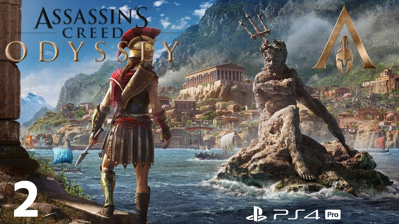 Assassin S Creed Odyssey Gameplay Walkthrough Ps4 Pro Part 2 Talos The Troll Youtube