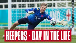 Day in the Life of an England Goalkeeper 🧤 Pickford, Johnstone & Henderson