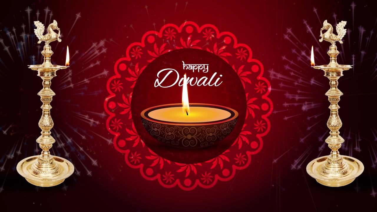 Happy diwali video free download 2018 wishes animation greetings.