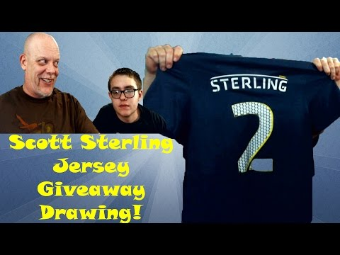 Scott Sterling Jersey Giveaway Selection! - Watch To See If You Won