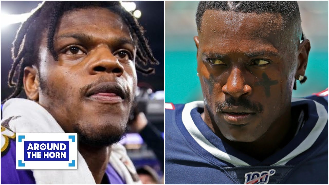 Antonio Brown makes no sense for the Ravens! - Woody Paige | Around the Horn