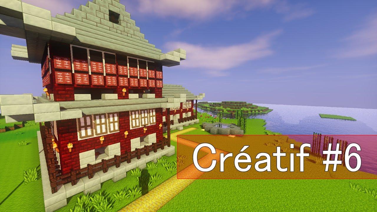 Destruction Maison Japonaise Class Deception Creatif Minecraft 6 Youtube