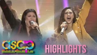 ASAP Natin 'To: Regine and Sarah G perform a rap and rock performance